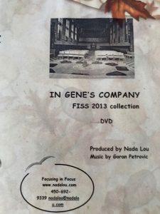 IN GENE'S COMPANY FISS 2013 DVD