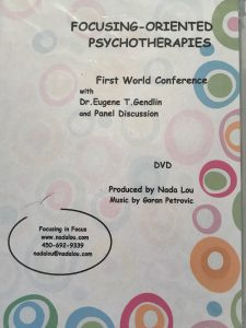 FOCUSING ORIENTED THERAPY FOT DVD