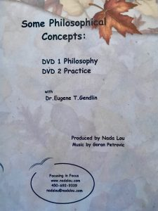 SOME PHILOSOPHICAL CONCEPTS DVD