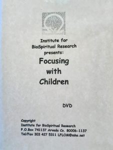 FOCUSING WITH CHILDREN DvD