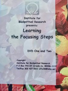 LEARNING THE FOCUSING STEPS DVD