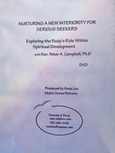 NURTURING A NEW INTERIORITY FOR SERIOUS SEEKERS DVD